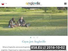 Miniaturka domeny angloville.pl