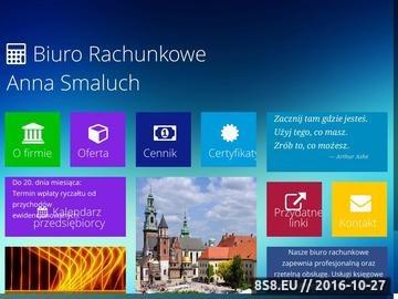Zrzut strony Profesjonalne usługi księgowe w Krakowie i online