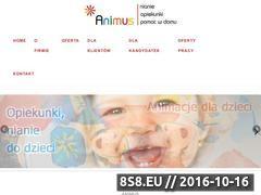 Miniaturka domeny www.animus-awg.pl