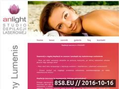 Miniaturka domeny www.anlight.pl