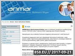 Miniaturka domeny www.anmar-biuro.pl
