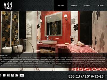 Zrzut strony Projekty wnętrz Annainteriors