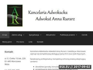 Zrzut strony Kancelaria Prawna - Porady Prawne Warszawa Wola