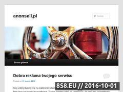 Miniaturka domeny anonsell.pl