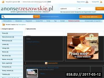 Zrzut strony Rzeszów, praca Rzeszów, nieruchomości Rzeszów