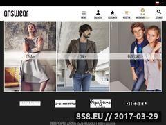 Miniaturka domeny answear.com