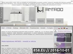 Miniaturka domeny www.antado.com.pl