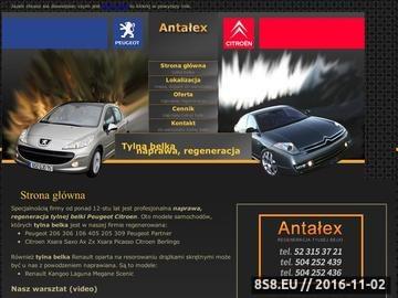 Zrzut strony Tylna belka, regeneracja w Peugeot i Citroen