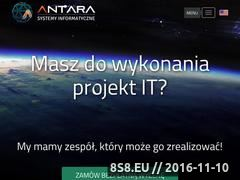 Miniaturka domeny www.antara.pl