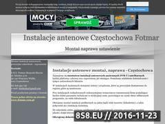 Miniaturka domeny anteny-fotmar.cba.pl