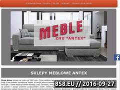 Miniaturka domeny www.antex.mragowo.pl