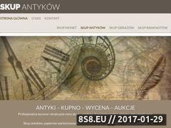 Miniaturka domeny antyki-skup.com