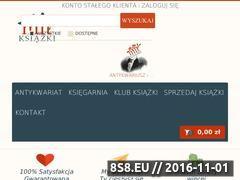 Miniaturka domeny www.antykwariat-mit.pl