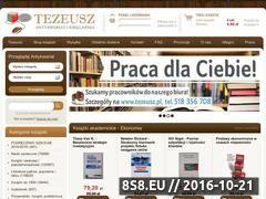 Miniaturka domeny www.antykwariat.tezeusz.pl