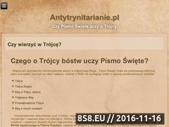 Miniaturka domeny antytrynitarianie.pl