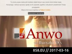 Miniaturka domeny www.anwo.com.pl
