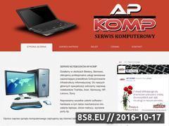 Miniaturka domeny www.ap-komp.pl