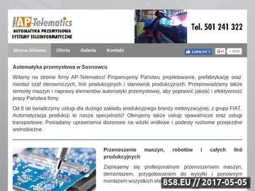 Zrzut strony Ap-Telematics usługi spawalnicze