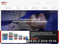 Miniaturka domeny aparelectric.pl