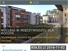 Miniaturka domeny www.apartament-miedzywodzie.eu