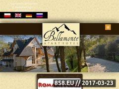 Thumbnail of Twoje noclegi w Zakopanem - Apartamenty Bellamonte Website