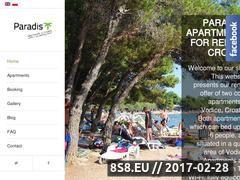 Miniaturka domeny www.apartamenty-chorwacja.eu