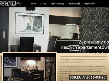 Zrzut strony Apartamenty do wynajęcia w Poznaniu