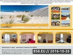 Miniaturka domeny apartamenty-leba.pl
