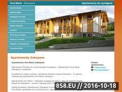 Miniaturka domeny www.apartamenty-zakopane.com.pl