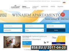 Miniaturka domeny www.apartamenty.nawyspie.eu