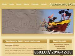 Miniaturka domeny www.apartamentydebki.com
