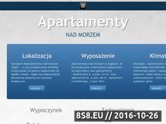 Miniaturka domeny www.apartamentygaski.pl
