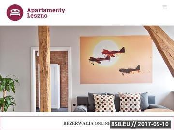Zrzut strony Hotel w Lesznie - Apartamenty Leszno