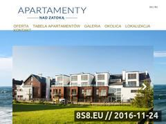 Miniaturka domeny apartamentynadzatoka.pl