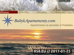 Miniaturka domeny www.apartamentypoddabie.pl