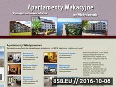 Miniaturka domeny www.apartamentywladyslawowo.eu