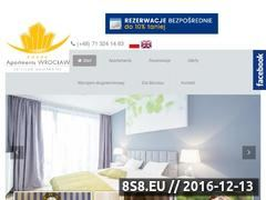 Miniaturka domeny www.apartments-wroclaw.com