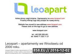 Miniaturka domeny www.apartmentswroclaw.pl