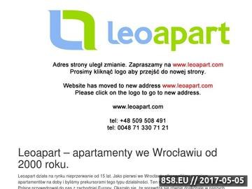 Zrzut strony Apartamenty Wrocław
