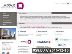 Miniaturka domeny www.apax.pl
