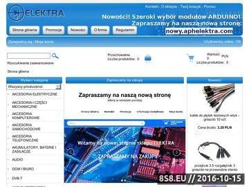 Zrzut strony Sprzęt elektroniczny