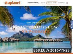 Miniaturka domeny www.aplanet.pl