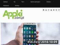 Miniaturka domeny appki.com.pl