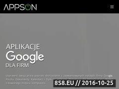 Miniaturka domeny www.appson.pl