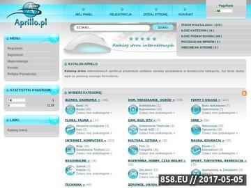 Zrzut strony Spis stron internetowych