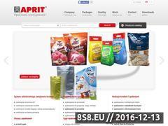 Miniaturka domeny www.aprit.pl