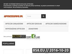 Miniaturka domeny www.apteczkowo.pl
