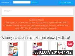 Miniaturka domeny www.apteka-melissa.pl