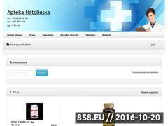 Miniaturka domeny www.apteka-natolinska.eu