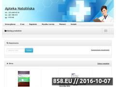 Miniaturka domeny www.apteka-natolinska.pl